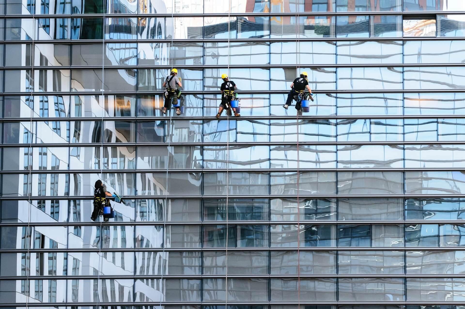Glasfassadenreinigung Hamburg